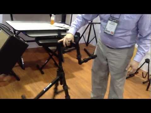 Kraft Music - Quiklok BS625 Double Combo Amp Stand NAMM 2013