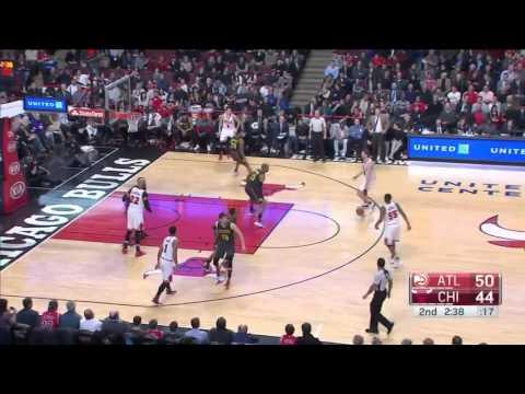 Atlanta Hawks vs Chicago Bulls | February 10, 2016 | NBA 2015-16 Season