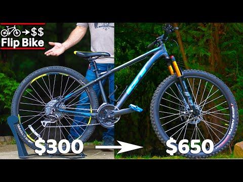 Flipping a $300 Facebook Hardtail (Flip Bike EP2)