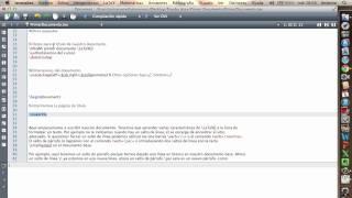 Mi primer documento LaTeX con TeXMaker