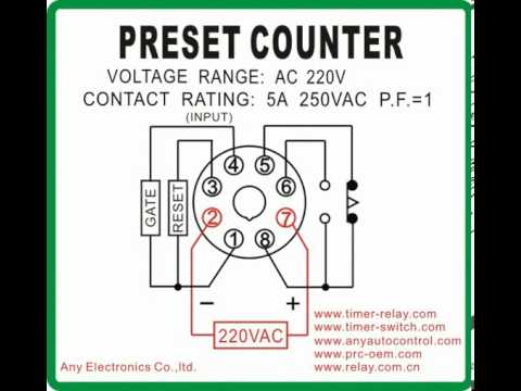 preset counter timer switch com youtube simple relay diagram preset counter timer switch com