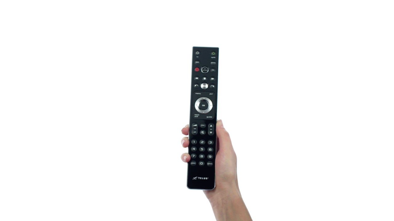 Program your Slimline Remote 2 for Optik TV | Support | TELUS com