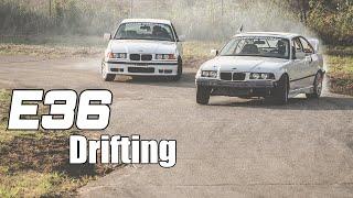 BMW E36 Drift Car Tandems! Best First Drift Car!