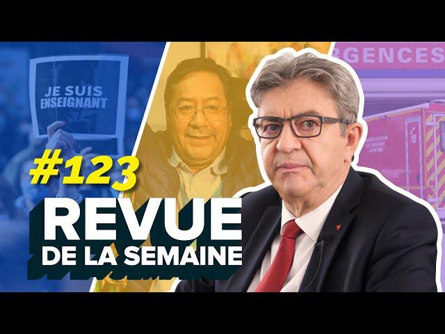 #RDLS123 : Samuel Paty, terrorisme, Bolivie, 18€ aux urgences