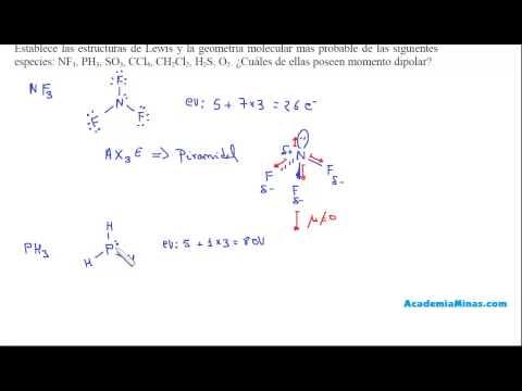 Estructuras De Lewis Geometría Y Polaridad De Nf3 Ph3 So3