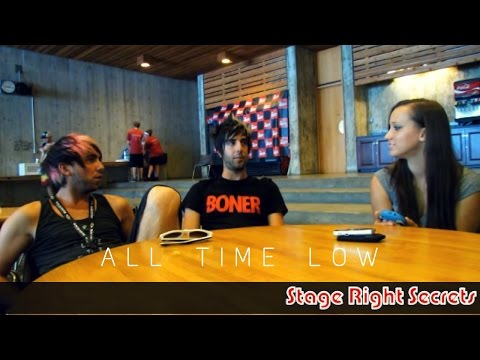 All Time Low Jack Barakat and Alex Gaskarth Interview! Talk BOTDF, Tacos, and Die Hard!