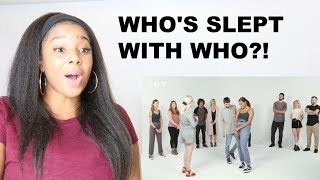 A DATING COACH GUESSES WHO'S BEEN WITH WHO | Reaction