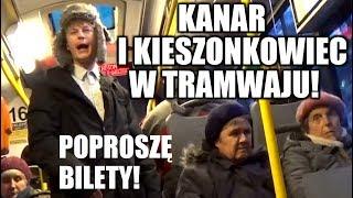 KANAR I KIESZONKOWIEC W TRAMWAJU! | Jeleniejaja