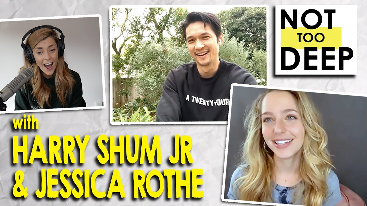 HARRY SHUM JR & JESSICA ROTHE on #NotTooDeep // Grace Helbig