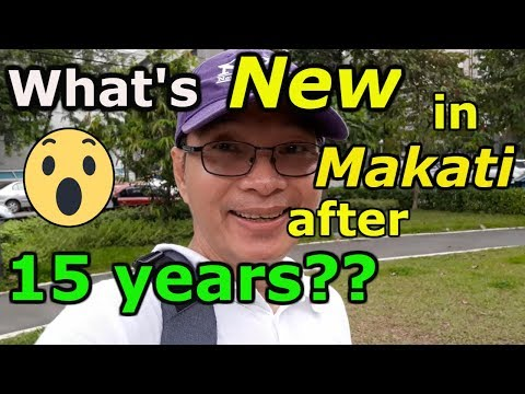 2019! Makati City Tour! Let us visit Makati City after 15 years! VLOG TOUR, Philippines