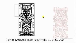 How to vector image trace in AutoCAD