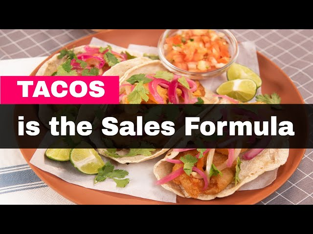 The Sales Formula is TACOS
