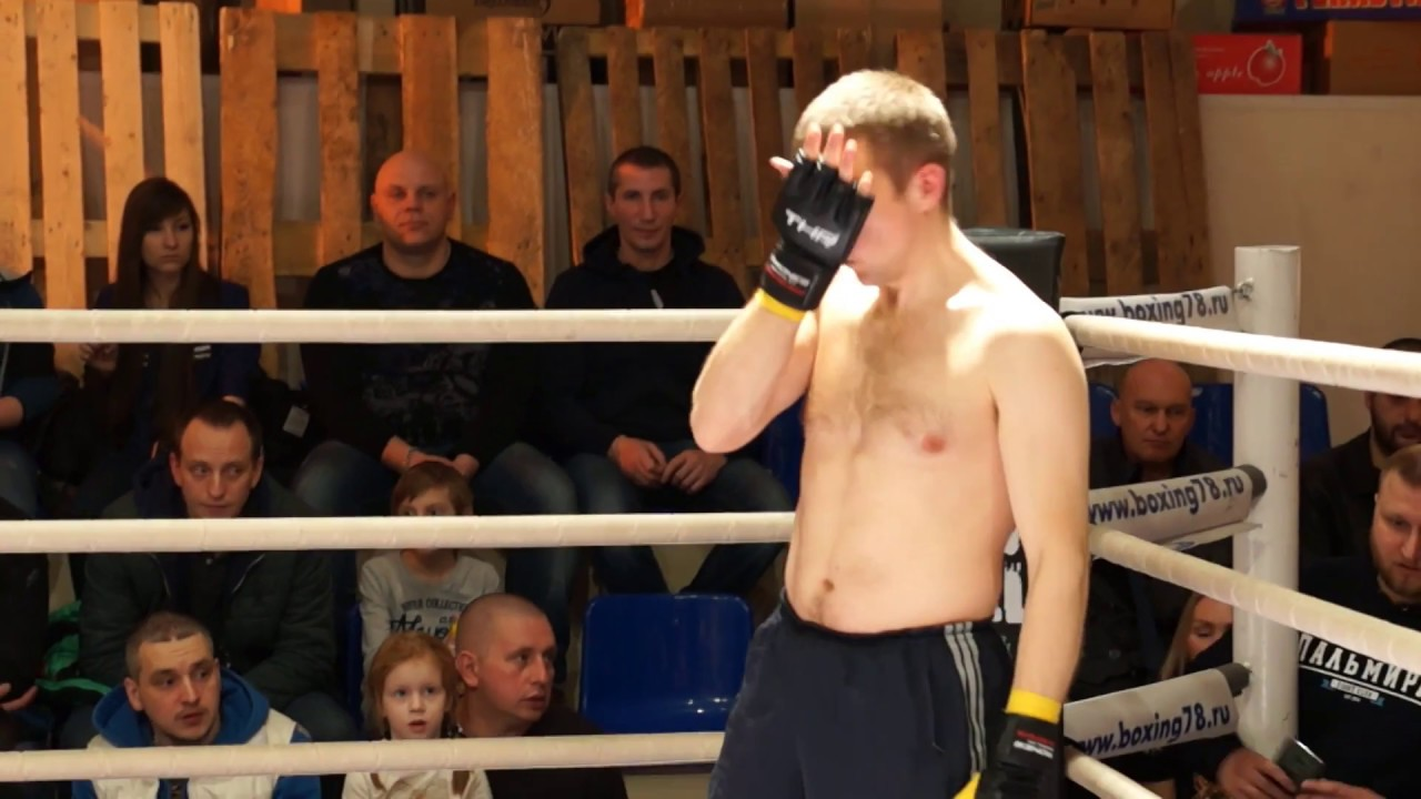 Третий бой с турнира 25 Марта