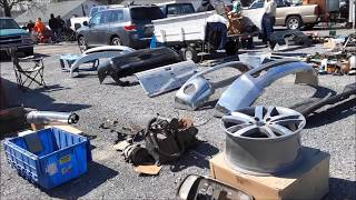 A Walk About the Howard County Swap Meet 2018 by the Chesapeake Region AACA