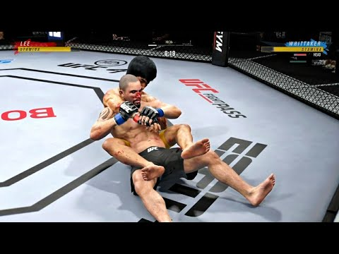 Download THE UNEXPECTED ONE   BRUCE LEE VS ROBERT WHITTAKER   UFC 4 K1 RULES   UFC 4 2020   EA SPORTS UFC 4