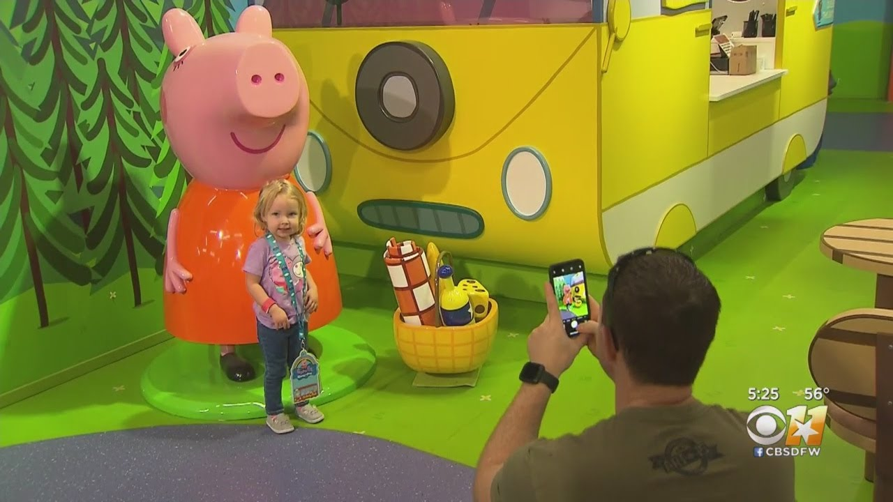 Peppa Pig World Of Play Opens In Grapevine