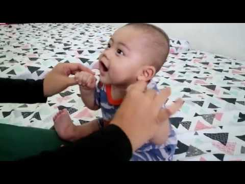 How To Teach Baby To Sit -6 Months Old Baby-