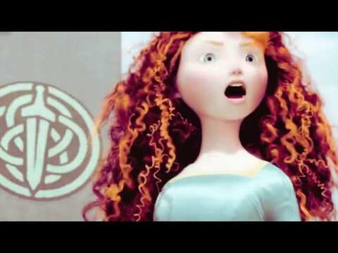 Elsa, Rapunzel, Anna & Merida   In The Name Of Love