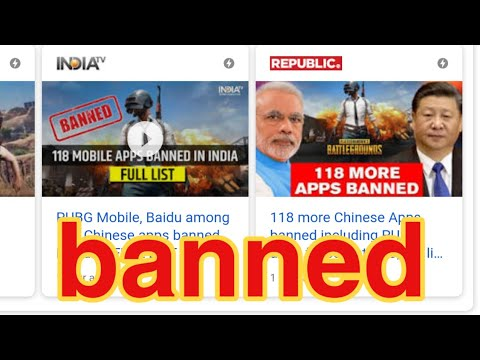 PUBG Mobile Banned in India 🇮🇳 but why?? Explained from YouTube · Duration:  2 minutes 9 seconds
