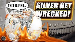 Silver Price Crashes - Let's Hear what Dealers Think!