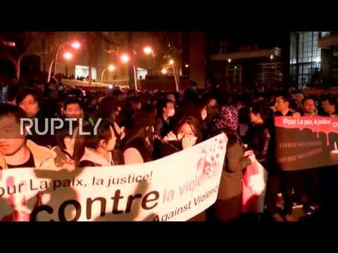 LIVE: Protests against police violence reignited in Paris af