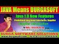Java 8 New Features | | Supplier Introduction || by Durga Sir