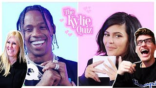 MOM REACTS TO KYLIE JENNER INTERVIEWING TRAVIS SCOTT!!! **HILARIOUS**
