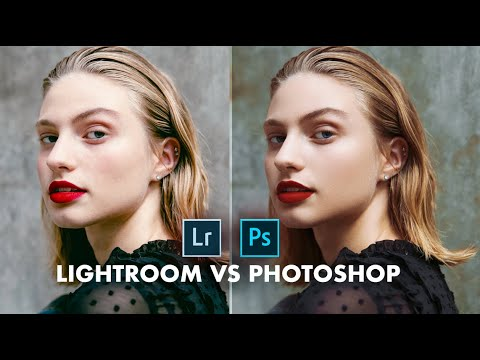 LIGHTROOM VS. PHOTOSHOP - which is better?