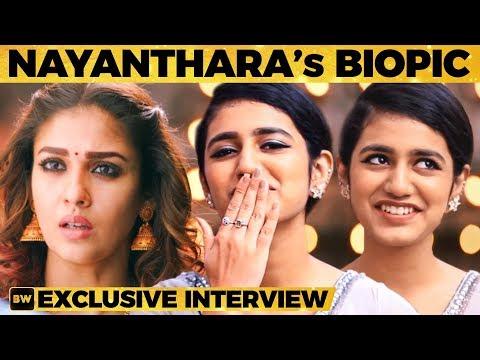 Priya Varrier's Flying Kiss 😘 - Super Cute Interview! | Oru Adaar Love