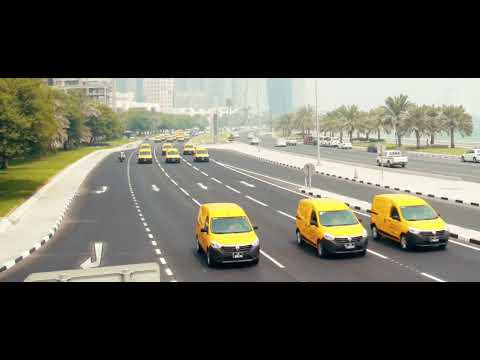 Qatar Post Cars & Bikes Convoy -