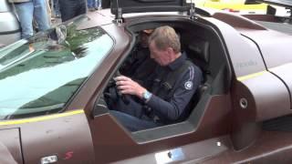 Quattrolegende 2012 Walter Röhrl fährt den Gumpert Apollo
