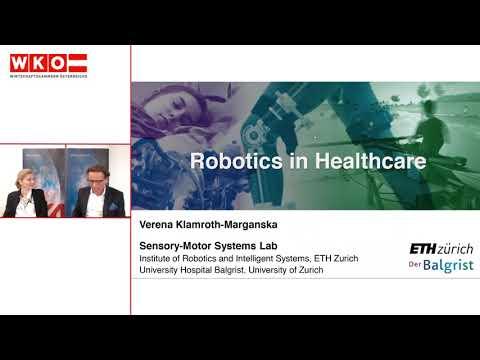 Robotics in Healthcare | X-Market Infosession der AußenwirtschaftsCenter Kopenhagen|Tokio|Zürich