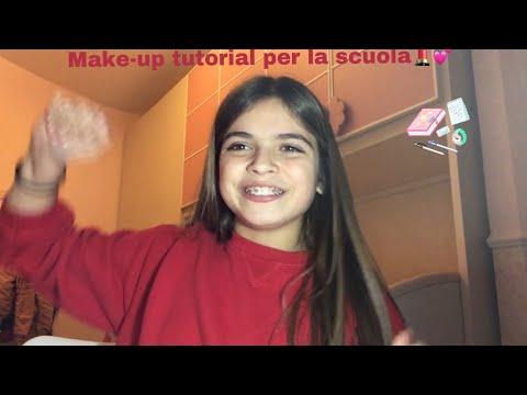 Make-up tutorial per la scuola💄💕