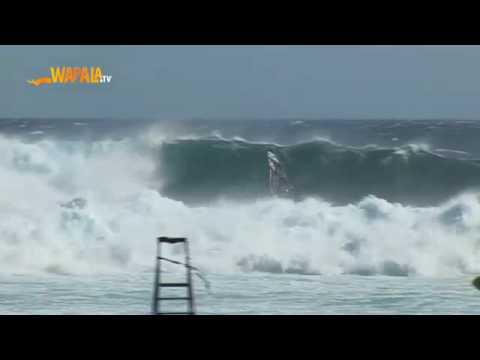Enorme Contest Di Windsurf A La Reunion Youtube