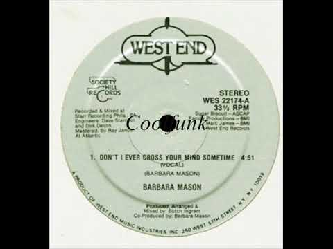 Barbara Mason - Don't I Ever Cross Your Mind Sometime (12 Inch 1984)