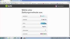 Spotify andere Zahlungsmöglichkeit German
