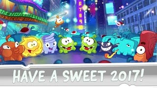 Have a Sweet 2017! - Postcard from Om Nom