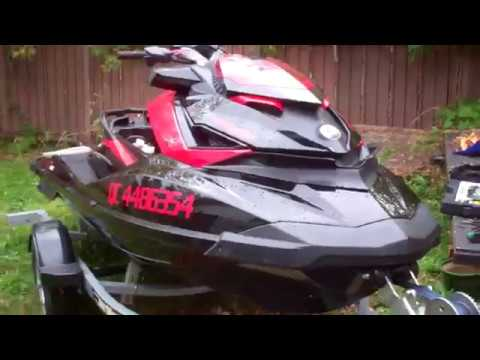 Seadoo RXPX 260 Starting To Winterize Check Supercharger Pt 1