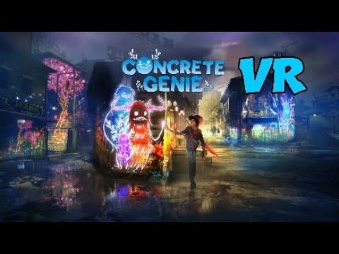 CONCRETE GENIE VR. Que ofrece en Realidad Virtual. PS4 Pro