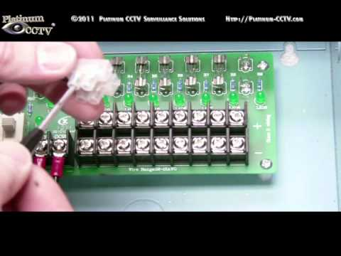 Install Optional Multi Camera Power Supply Box With Your