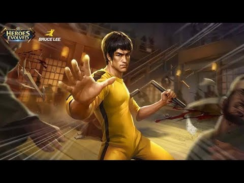 Bruce Lee HEROES EVOLVED (BUILD 1000% WINRATE)
