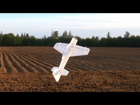 John's EPP Sukhoi SU-29 Prototype 3D Foamie Stunts and Tricks - 3D Flying Foamy RC Plane
