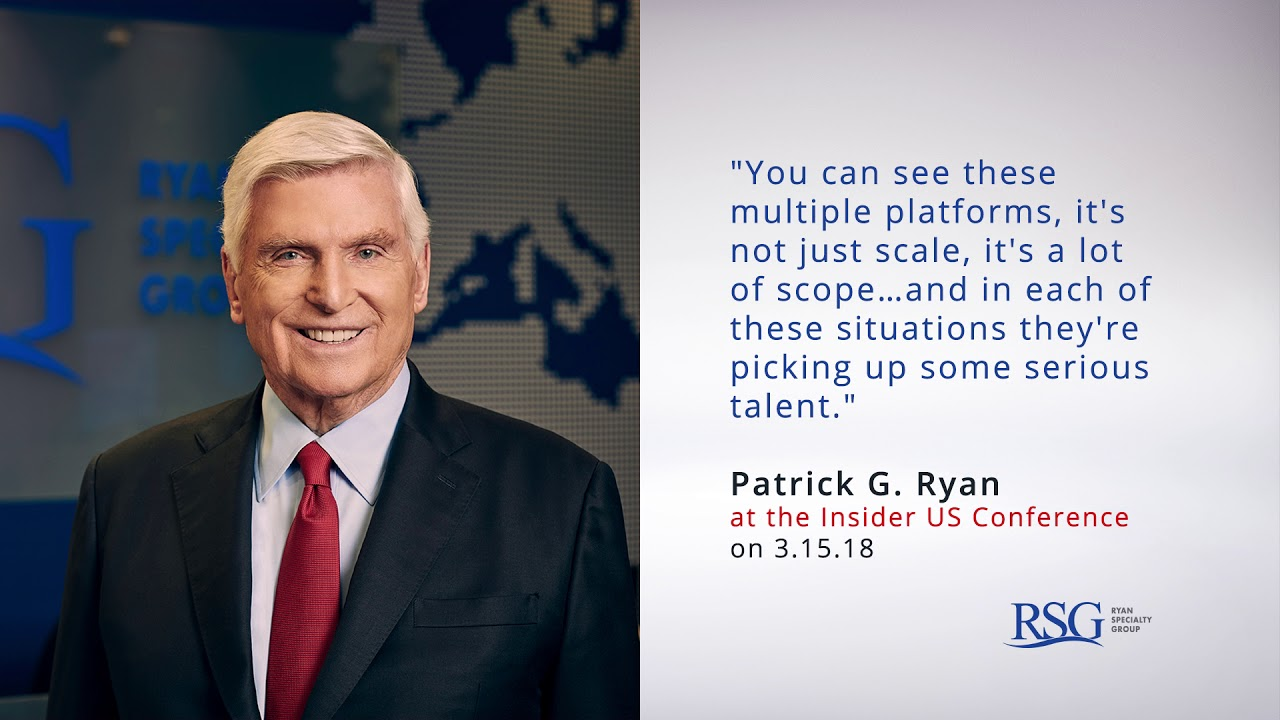 Pat Ryan Speaks At The 2018 Insider Us Conference