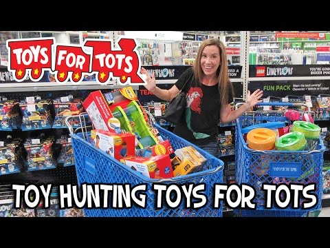Toy Hunting For Toys For Tots 2015 - Shopkins, Barbie, Play Doh, Lalaloopsy, Baby Alive,