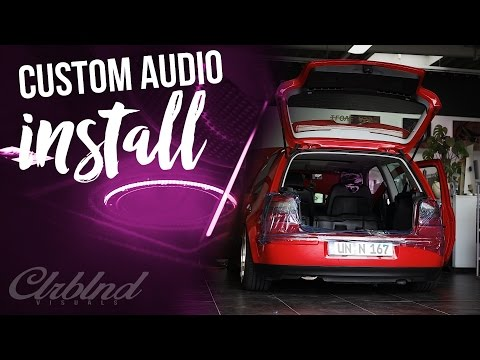RedTube Mk4 GTI | custom sound install | by Colorblindvisuals