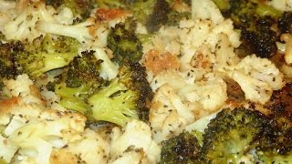 Basic Cooking Recipe For Roasting Cauliflower & Broccoli - Diabetic Friendly Dish