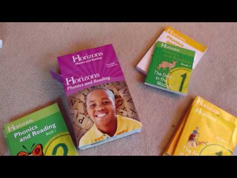 Horizons Phonics and reading, Kindergarten- 2nd grade Homeschool Curriculum