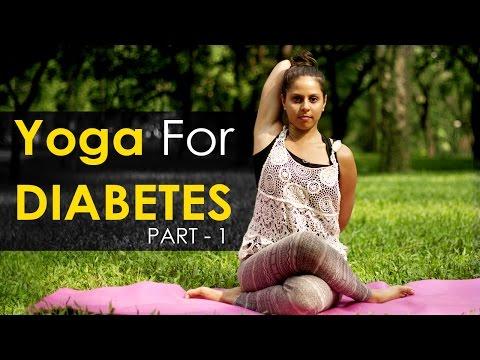 Yoga Poses for diabetes – Part 1