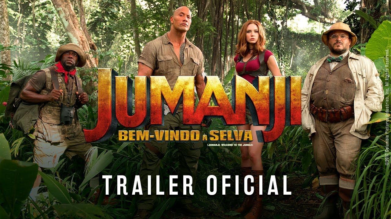 Download JUMANJI: Bem-vindo à Selva   Trailer (Legendado)