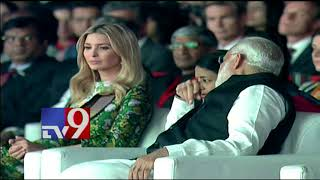 GES 2017 ||  Ivanka Trump & PM Modi visit exhibits  -  TV9 Now